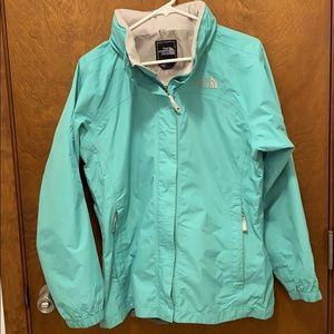 The north face rain jacket size xl girls